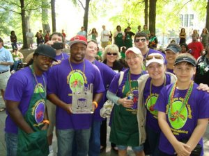 cajun cook-off 2nd place judges choice with Crawfish & Shrimp Po'Boy